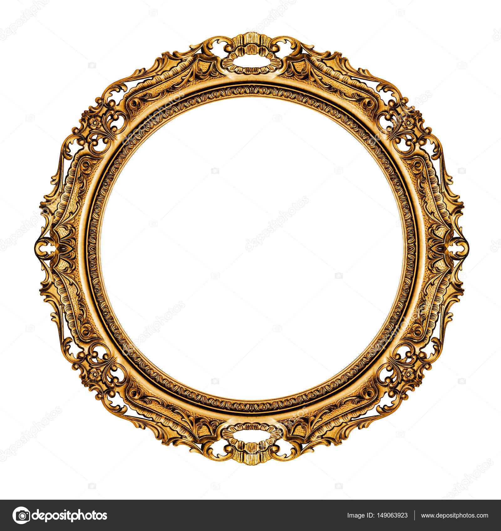 marco dorado vintage — Foto de stock © wabeno #149063923
