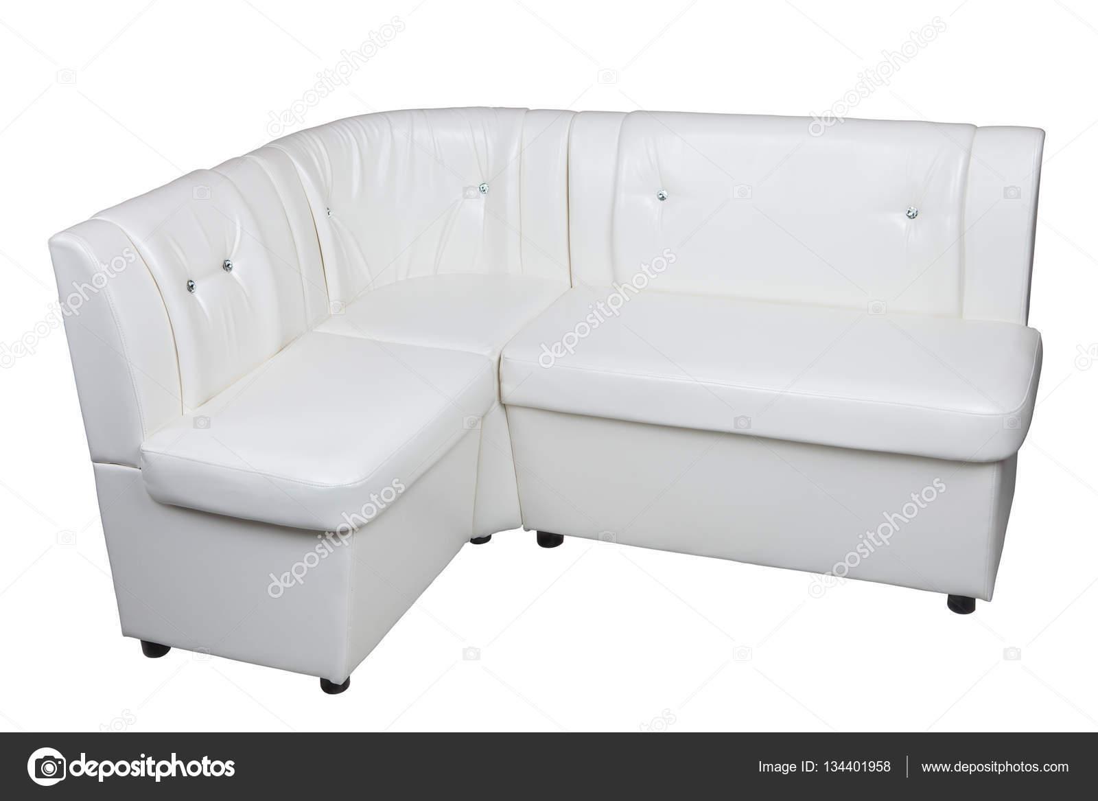 Bianco pu divano in pelle moderno angolo componibile per - Sala da pranzo con divano ...