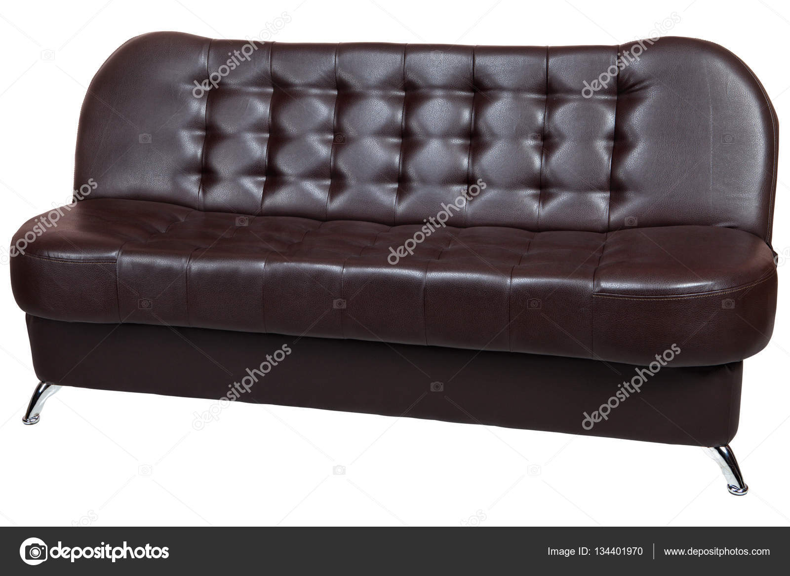 Super Convertible Sofa Bed Faux Leather With Dark Brown Color Caraccident5 Cool Chair Designs And Ideas Caraccident5Info