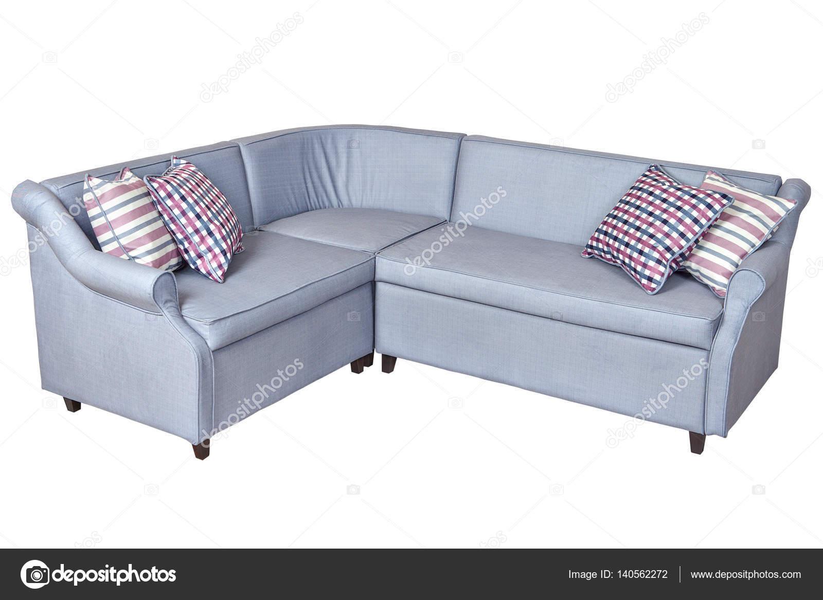 Divano Angolo Letto : Luce grigio angolo pieghevole imbottita in divano letto in tessuto