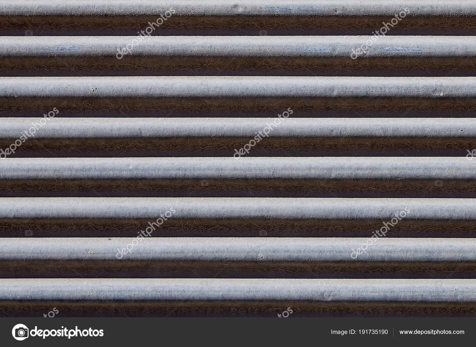 Old Roller Shutter, Metal Garage Door Backdrop Or Storefront, Texture. U2014  Stock Photo