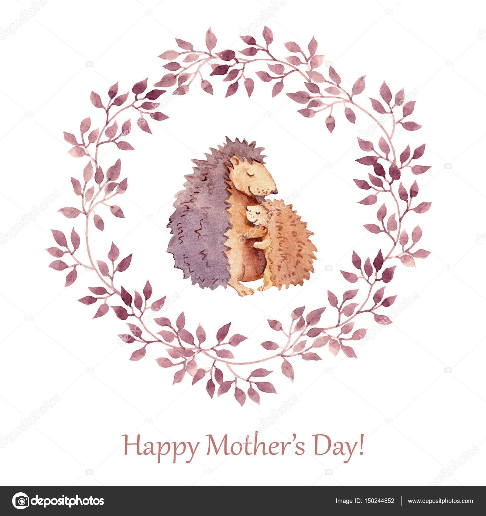 Мать и ребенок открытки 173