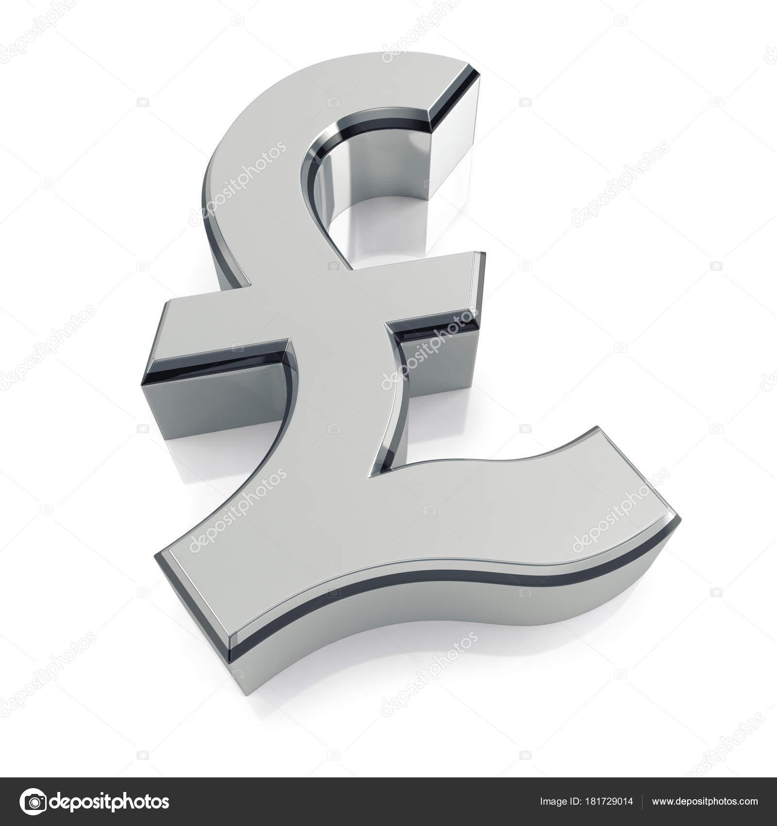 British Pound Sign Symbol Md3d 181729014