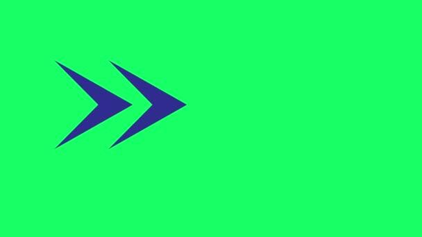 Blue arrows in green background