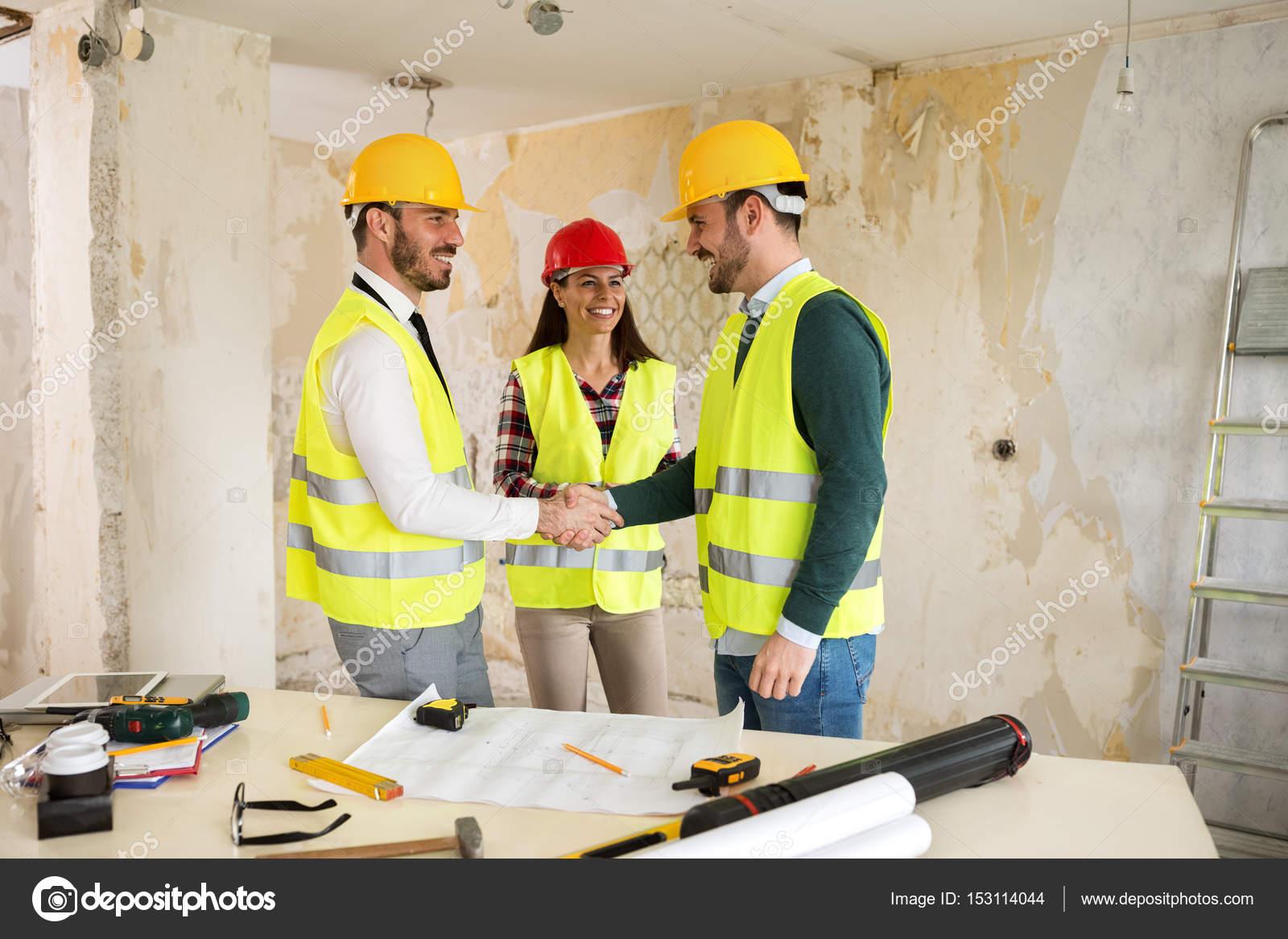Team work construction concept blueprint level and rulers stock team work construction concept blueprint level and rulers stock photo malvernweather Image collections