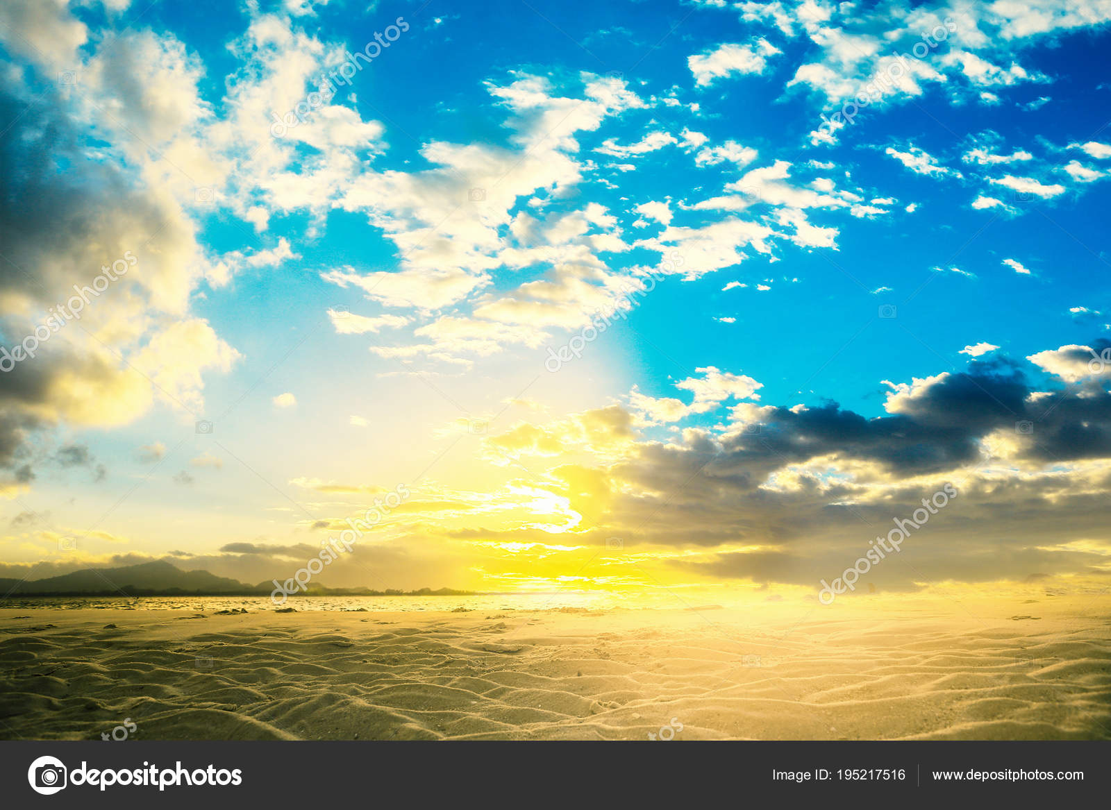 Windy Wallpaper Summer Sunset Cloudy Background Puffy