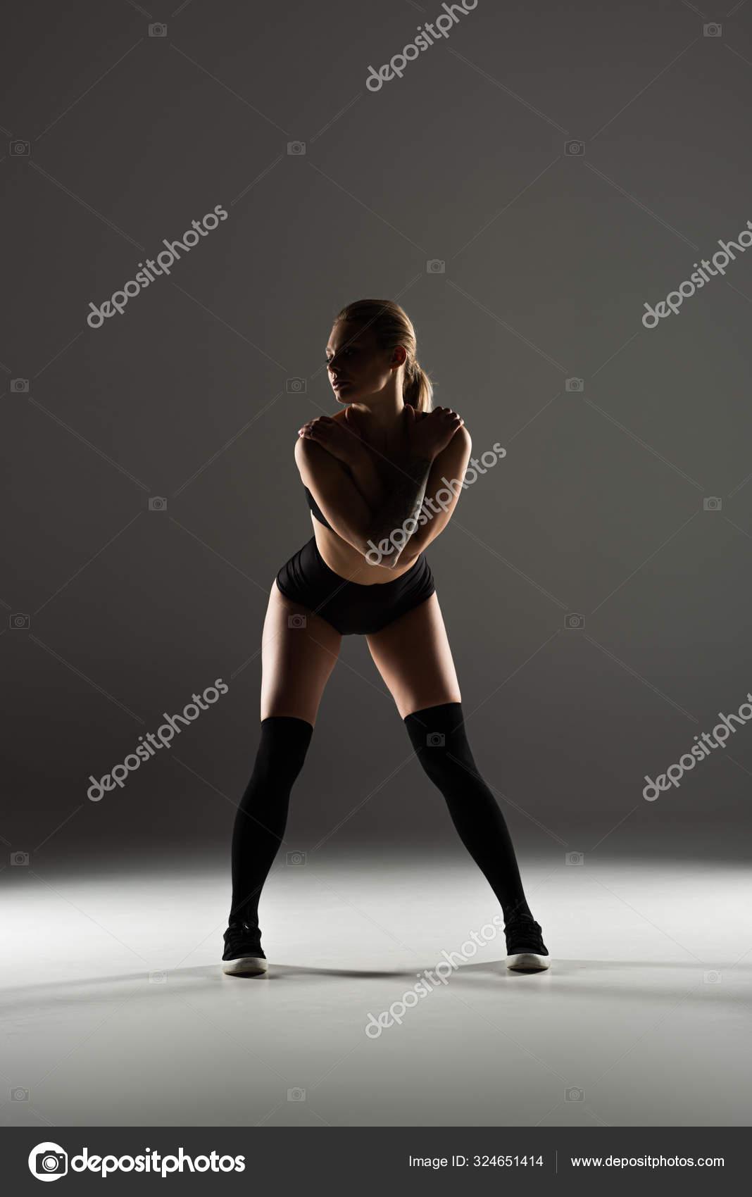 Sexy Mädchen Twerking Schwarz Big heavy