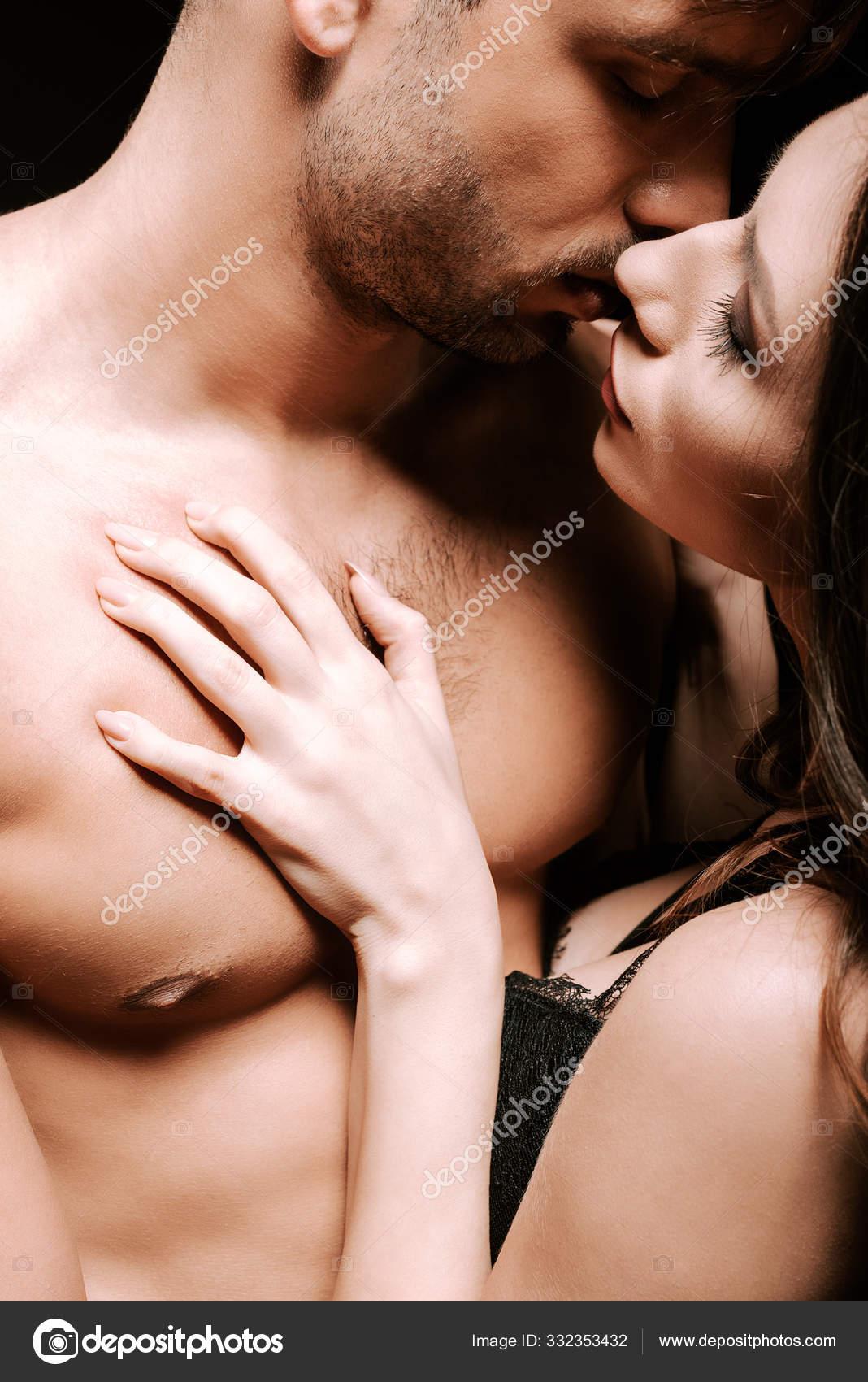 Kissing mans chest woman 7 Places