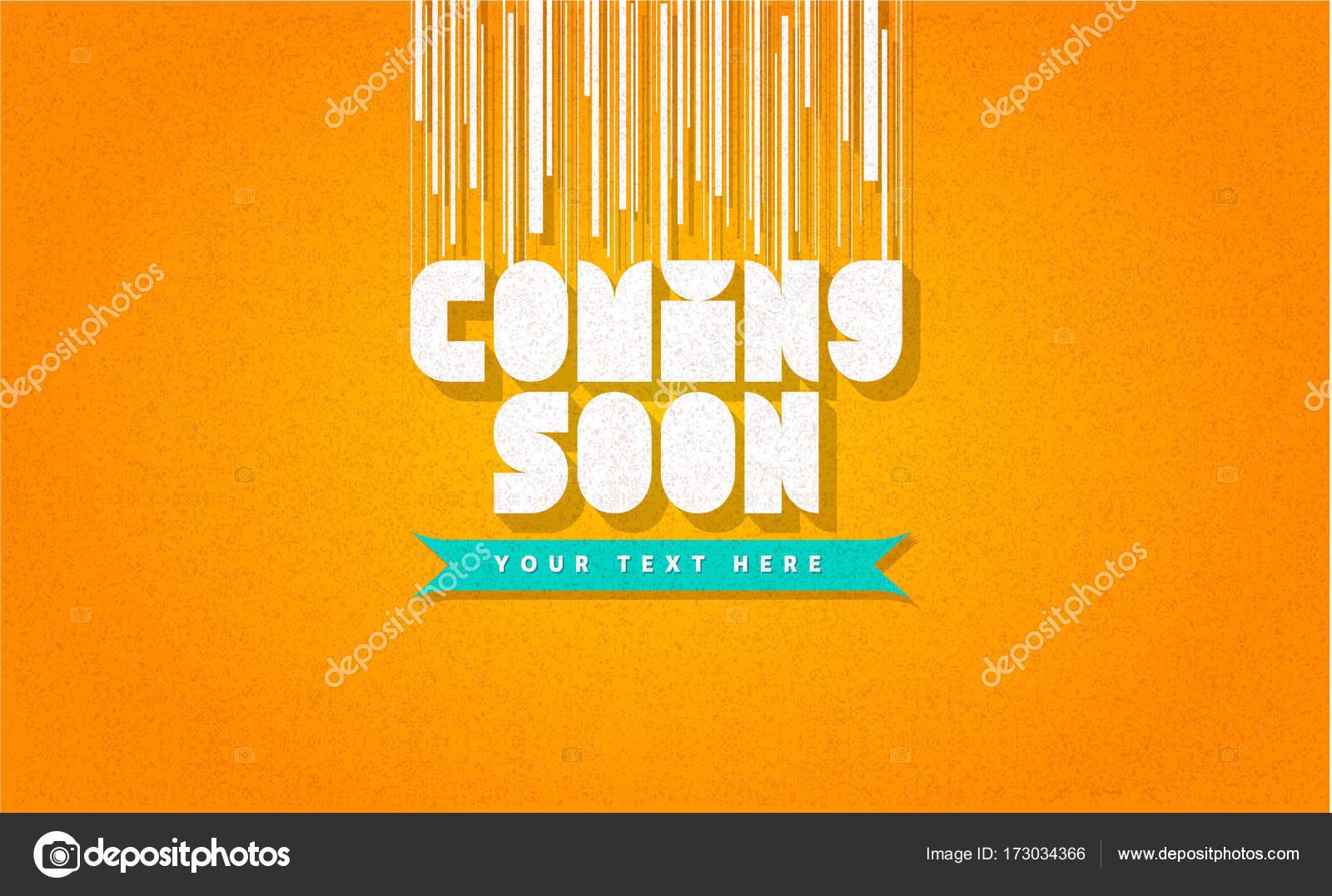 Viene pronto moda banner, plantilla de página web, marco, la divisa ...