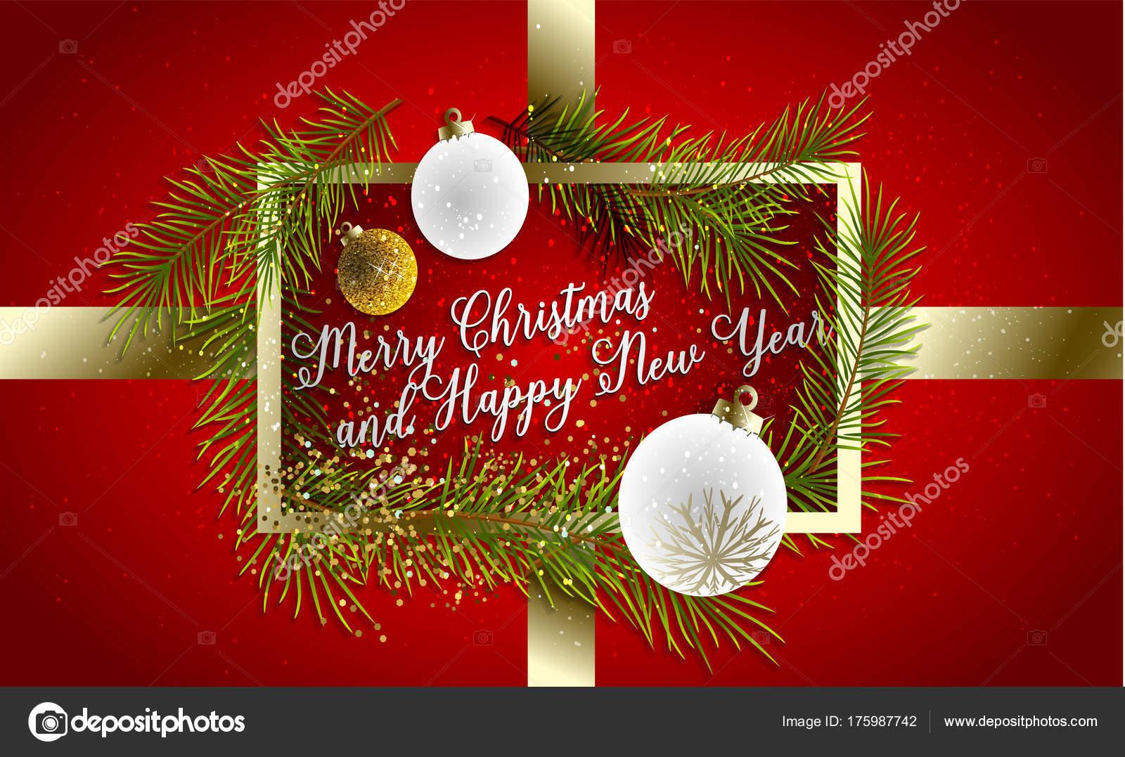 Tarjetas para la navidad y ano nuevo