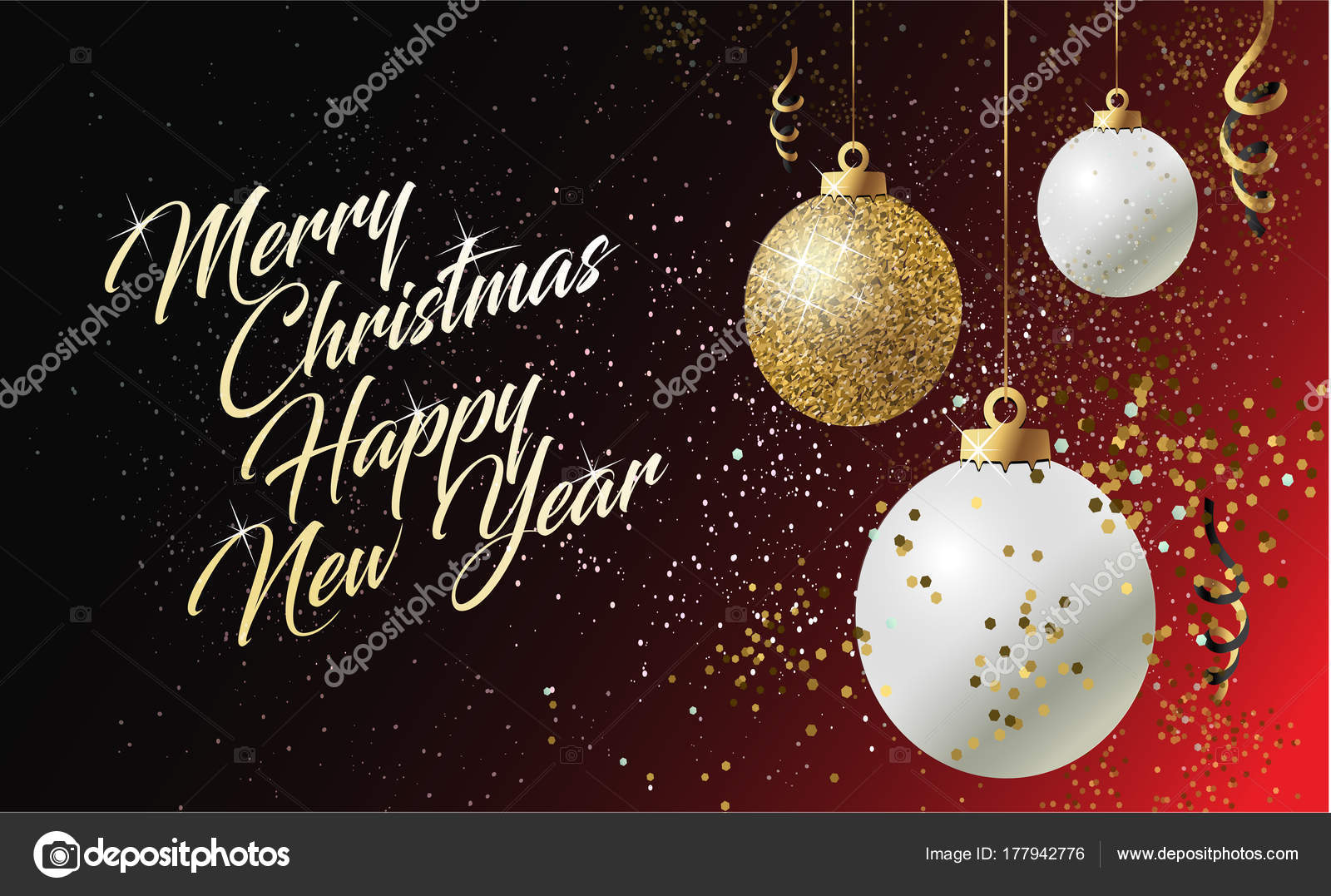 Merry Christmas Poster 2018.2018 Merry Christmas Happy New Year Card Greeting Winter