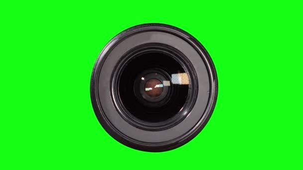 Zöld képernyős fényképlencse krómkulcshoz