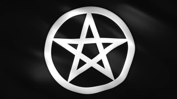 Pentagram szimbólum a fekete zászló