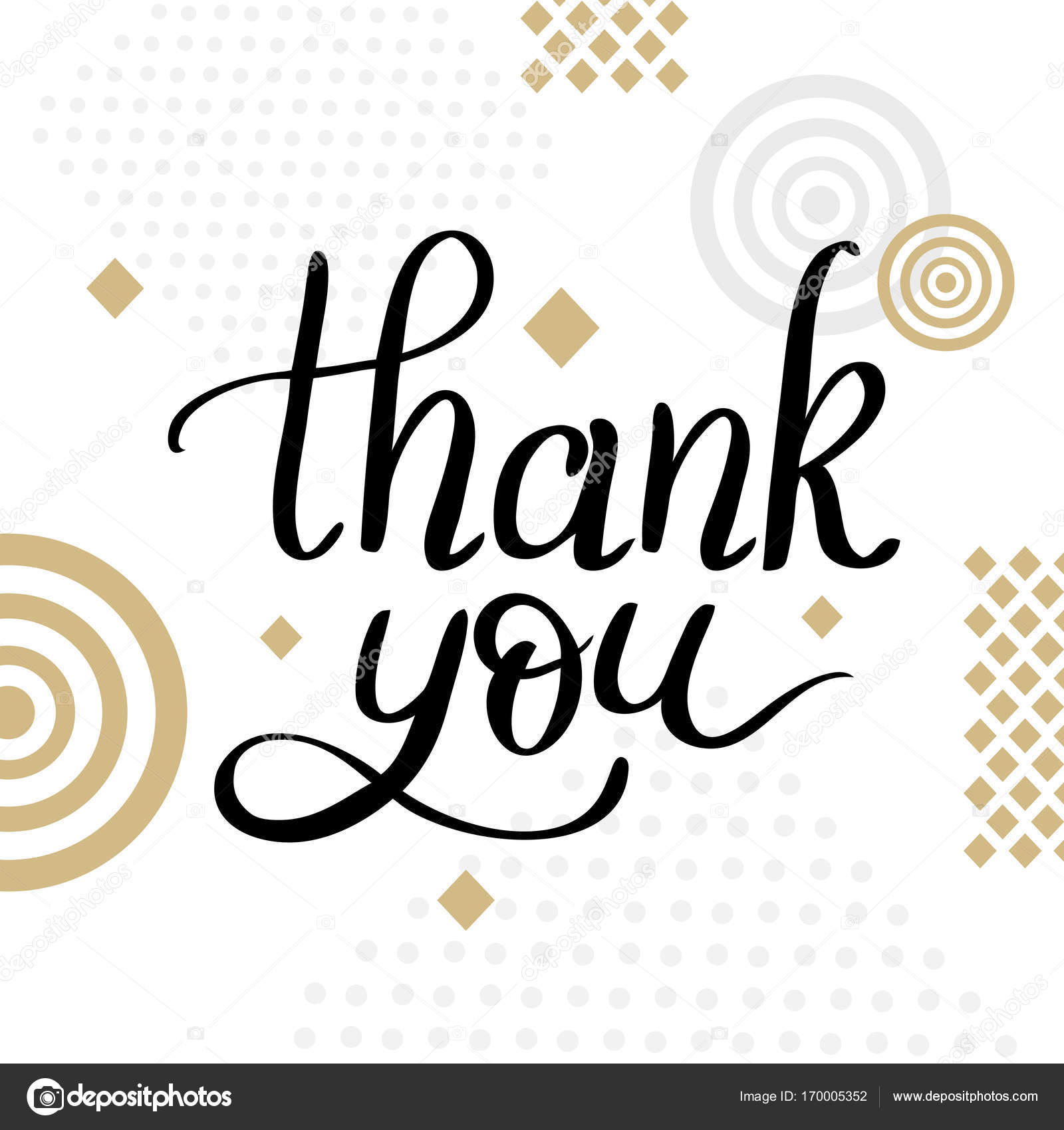 Thank you template for banner or poster holiday lettering stock thank you template for banner or poster holiday lettering stock vector 170005352 pronofoot35fo Choice Image