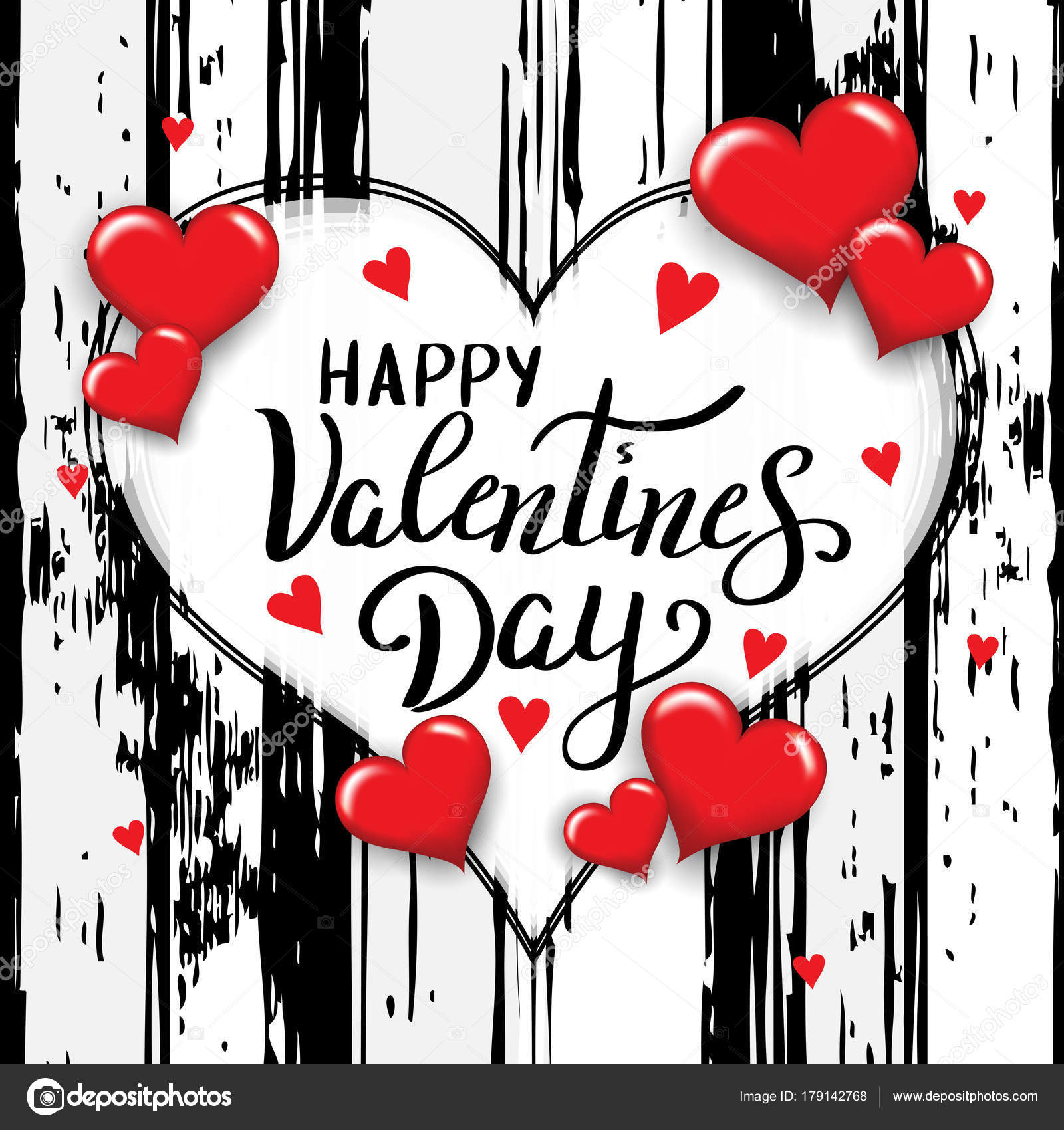 happy valentines day template for banner or poster holiday lett