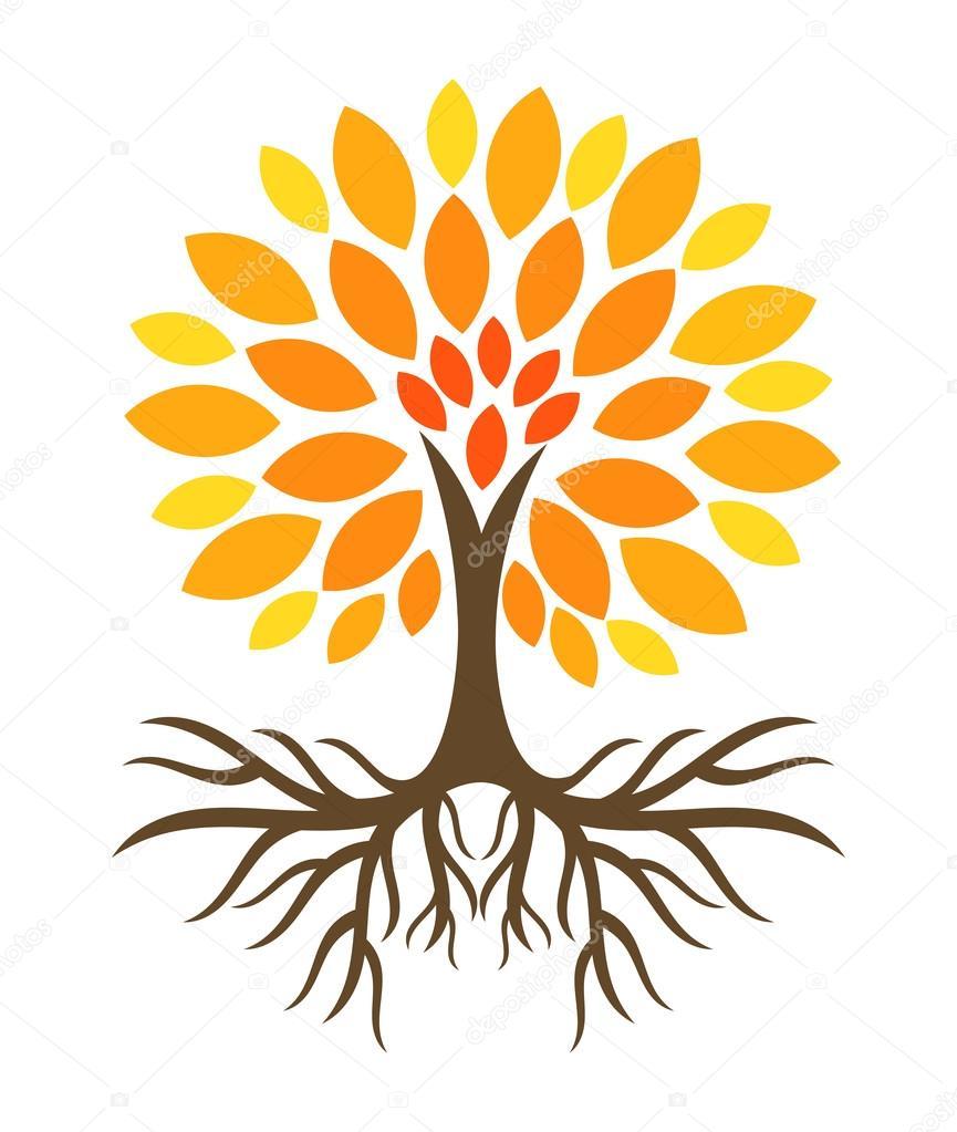 Sonbahar Ağaç çizimi Stok Vektör Studiobarcelona 127209188