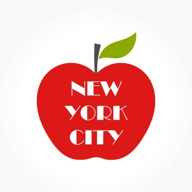 Big apple illustration