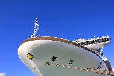 Cruise ship in Antigua