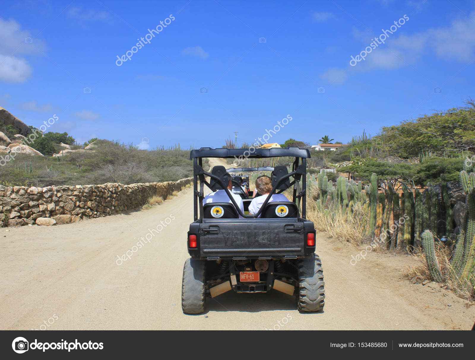 Side By Side Fourwheel Drive Car In Aruba Stock Editorial Photo - Aruba tours for cruise ship passengers