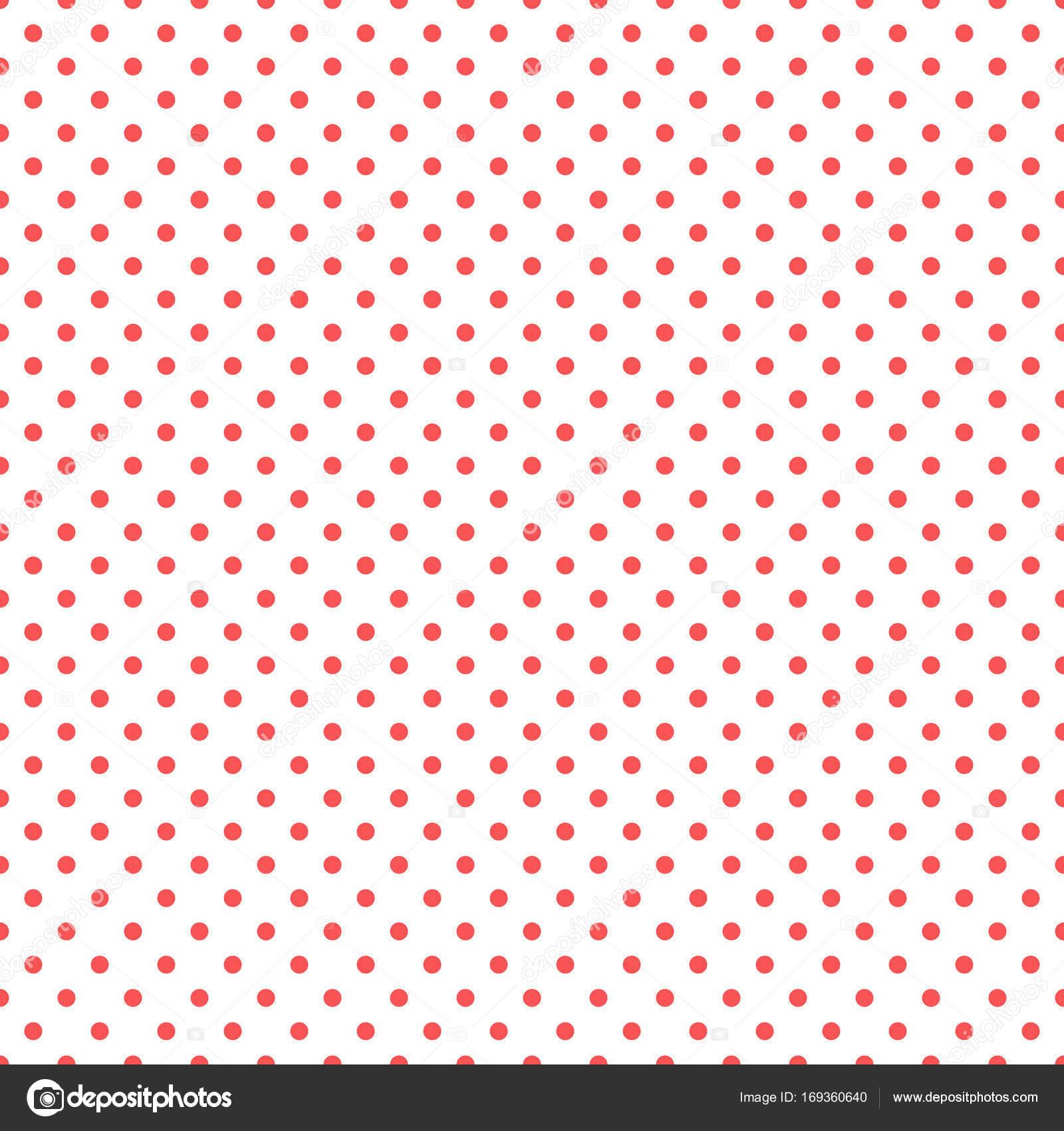 Reticolo Rosso E Bianco A Pois Vettoriali Stock Studiobarcelona