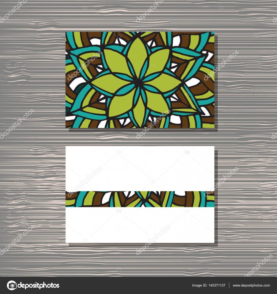 Besuchen Sie die Kartenvorlage — Stockvektor © 0112angel #145371137