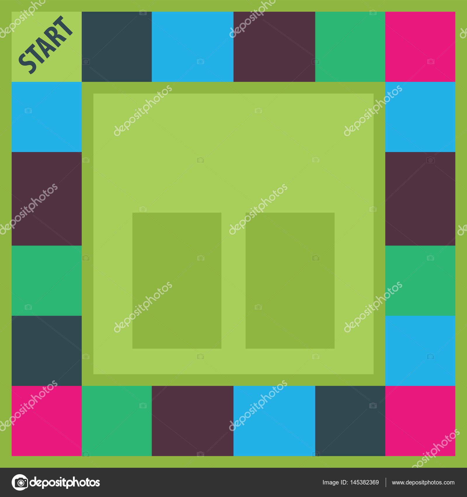 Brettspiel Vorlage — Stockvektor © 0112angel #145382369