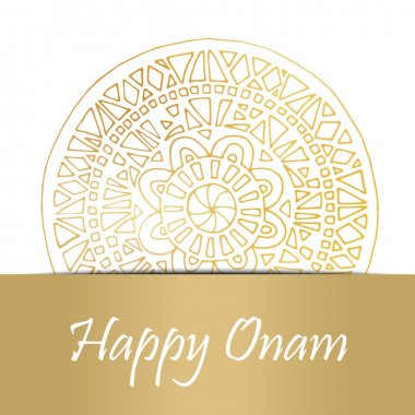 Happy Onam card