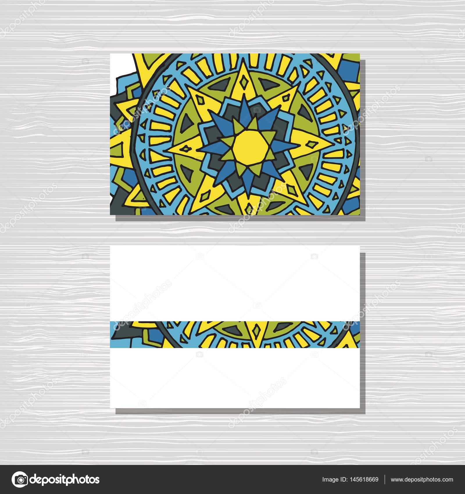 Yoga-Studio-Karte-Vorlage — Stockvektor © 0112angel #145618669