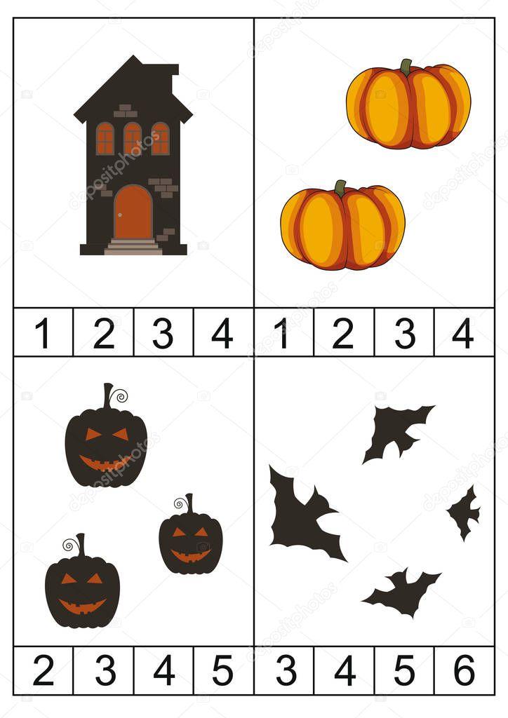 Ausgezeichnet Halloween Verständnis Aktivitäten Zeitgenössisch ...