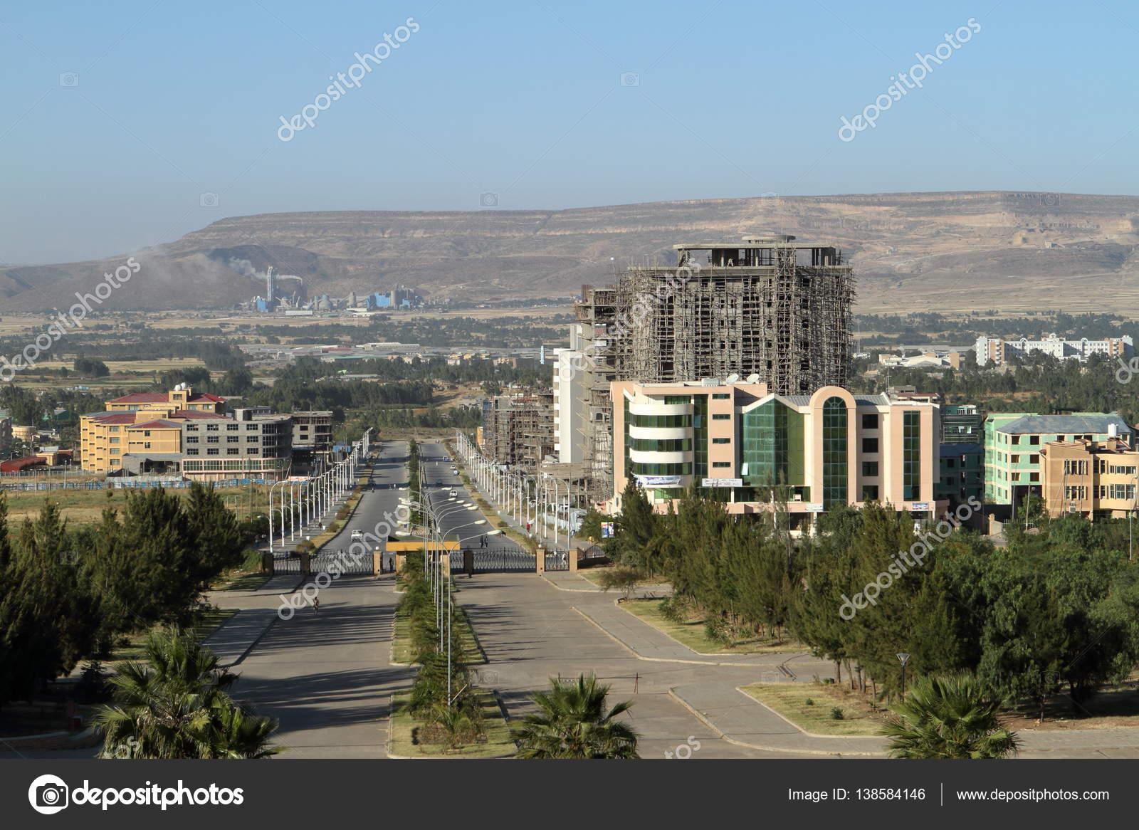 The city of Mekele in Ethiopia — Stock Photo © hecke06