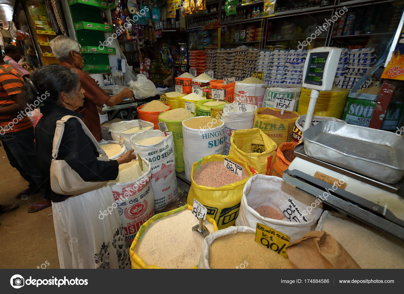 Market Halls Kandy Sri Lanka August 2017 – Stock Editorial Photo