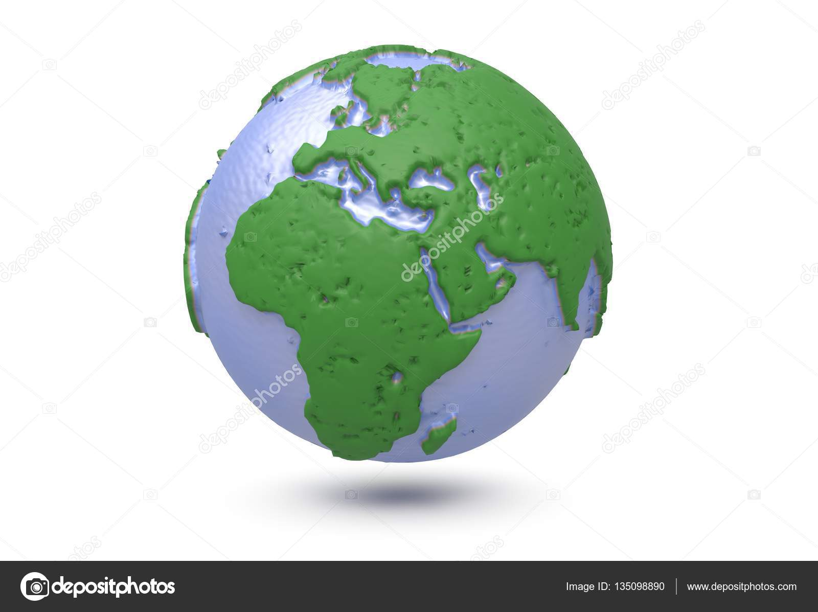 Earth world map polygonal globe 3d illustration stock photo earth world map polygonal 3d globe with 3d render photo by tdhster gumiabroncs Image collections