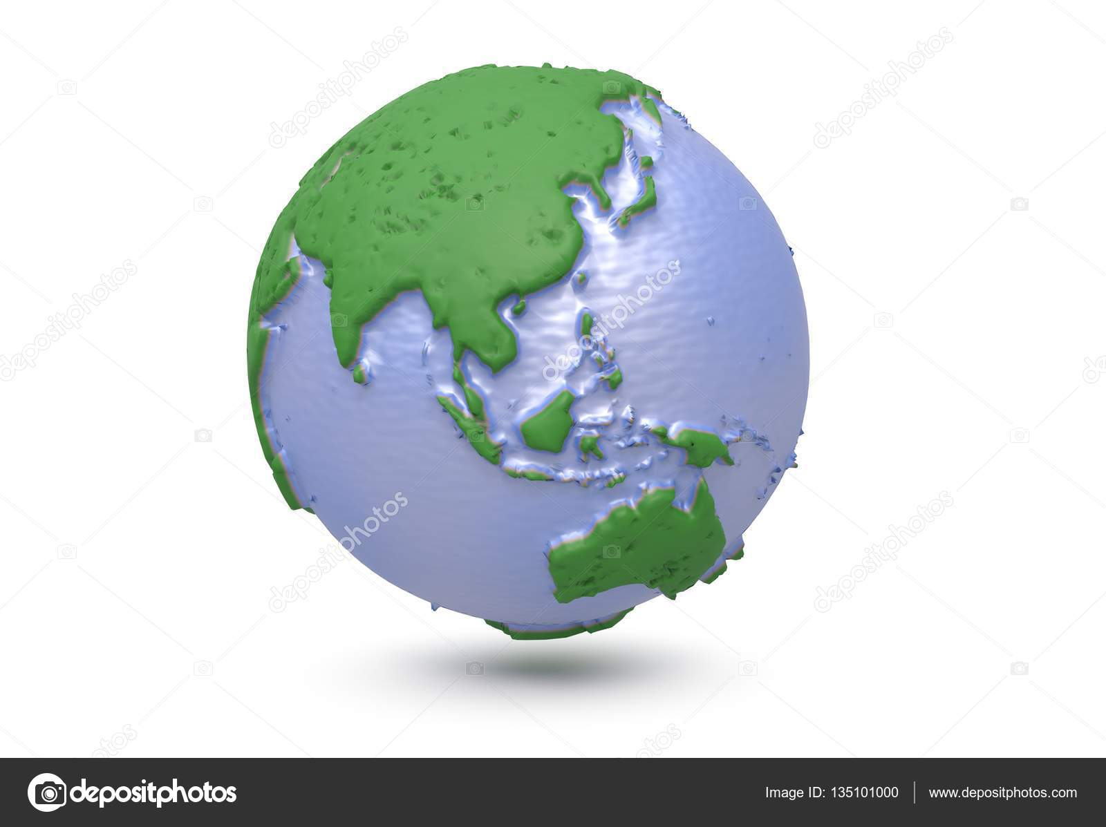 terre carte du monde polygonale globe asie illustration 3d photographie tdhster 135101000. Black Bedroom Furniture Sets. Home Design Ideas