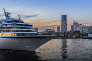 Yokohama bayside city view