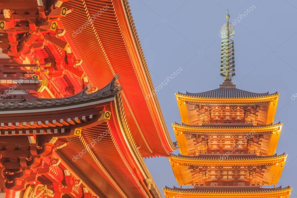 Tokyo Sensoji Asakusa temple
