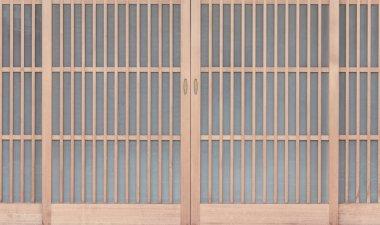 Traditonal Japanese door