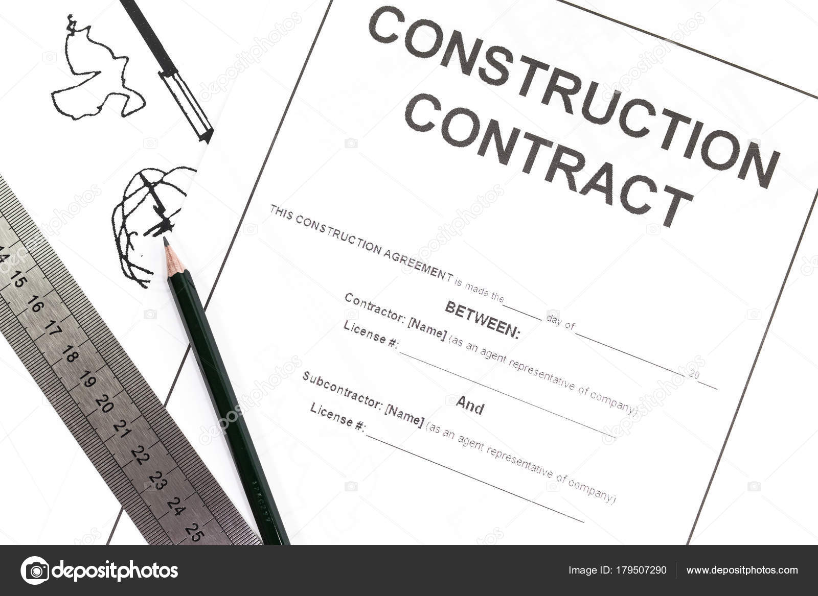 blank construction contract