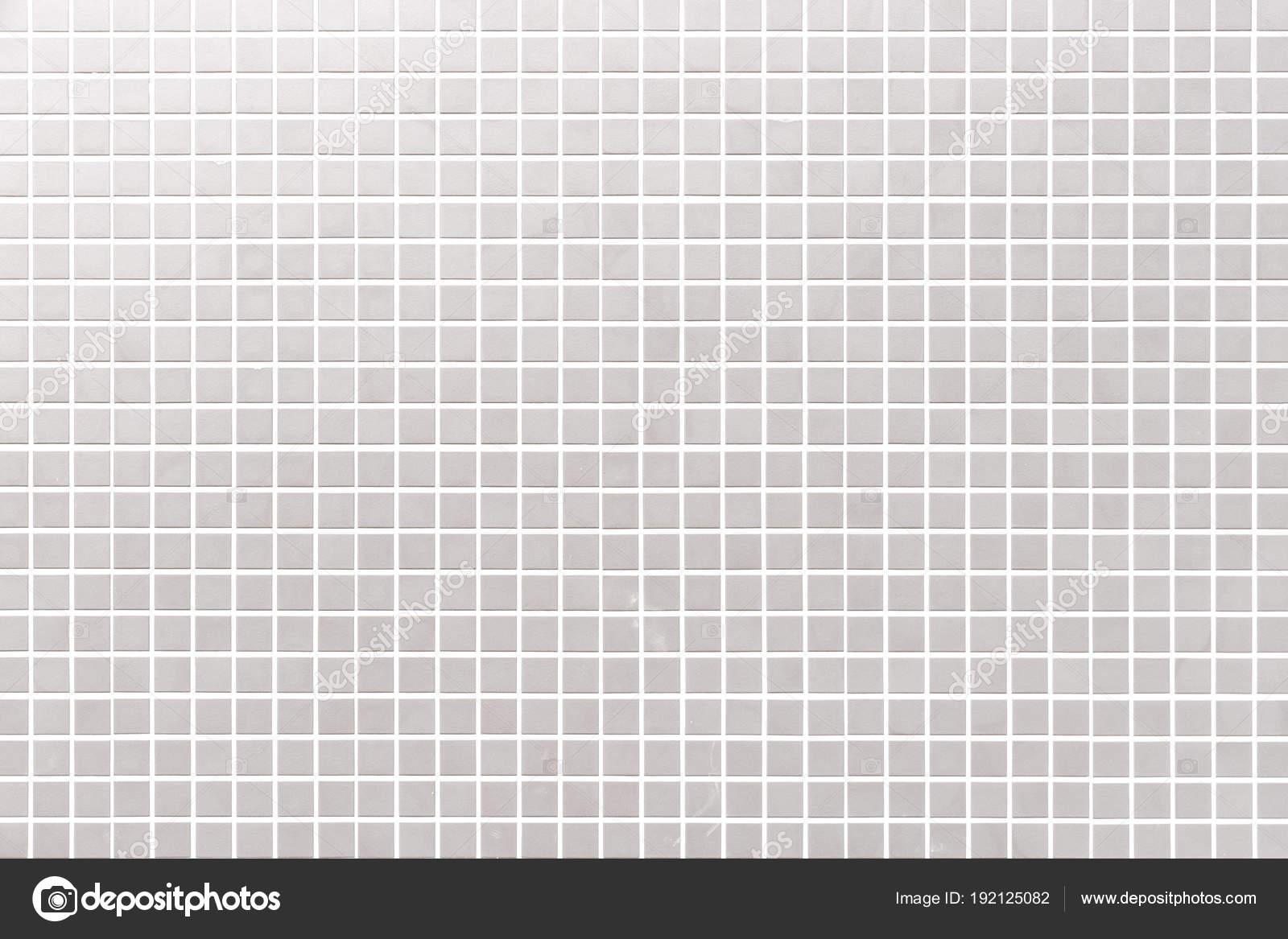 White Mosaic Tile Wall Pattern Seamless Background — Stock Photo ...