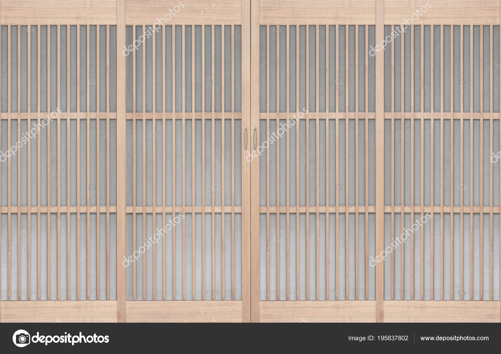 Shoji Traditonal Japanese Door Window Room Divider Consisting