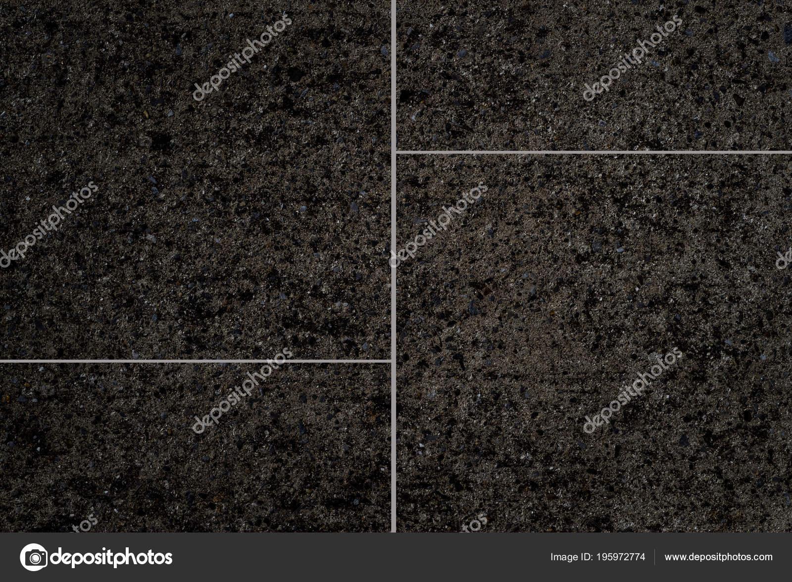Black Stone Tile Floor Background Texture Stock Photo Torsakarin