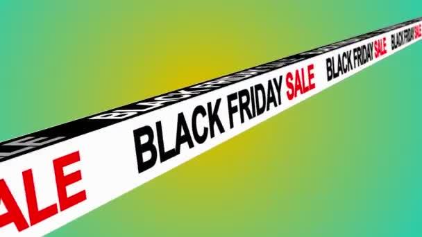 Fekete péntek eladási jel banner háttér promo, koncepció az értékesítés és a clearance 3d renderelés