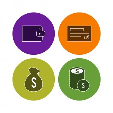 4 E-commerce Icons For Personal And Commercial Use...