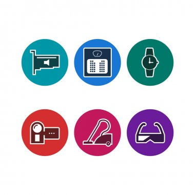 6 Electronic devices Icons For Personal And Commercial Use...