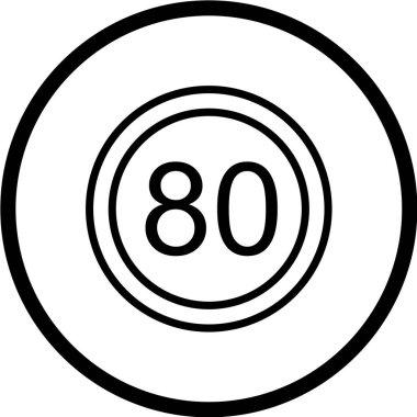 Road Sign Icon, vector illustration