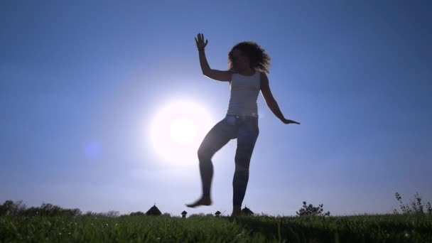 Capoeira auf dem Rasen