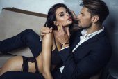 Fotografie Sexy Paar einander berühren