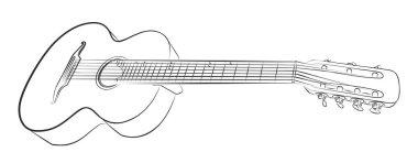 The Guitar sketch.