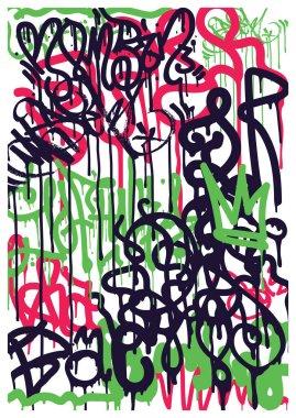 Background Graffiti Stickers