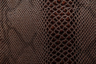 Real leather  of reptile