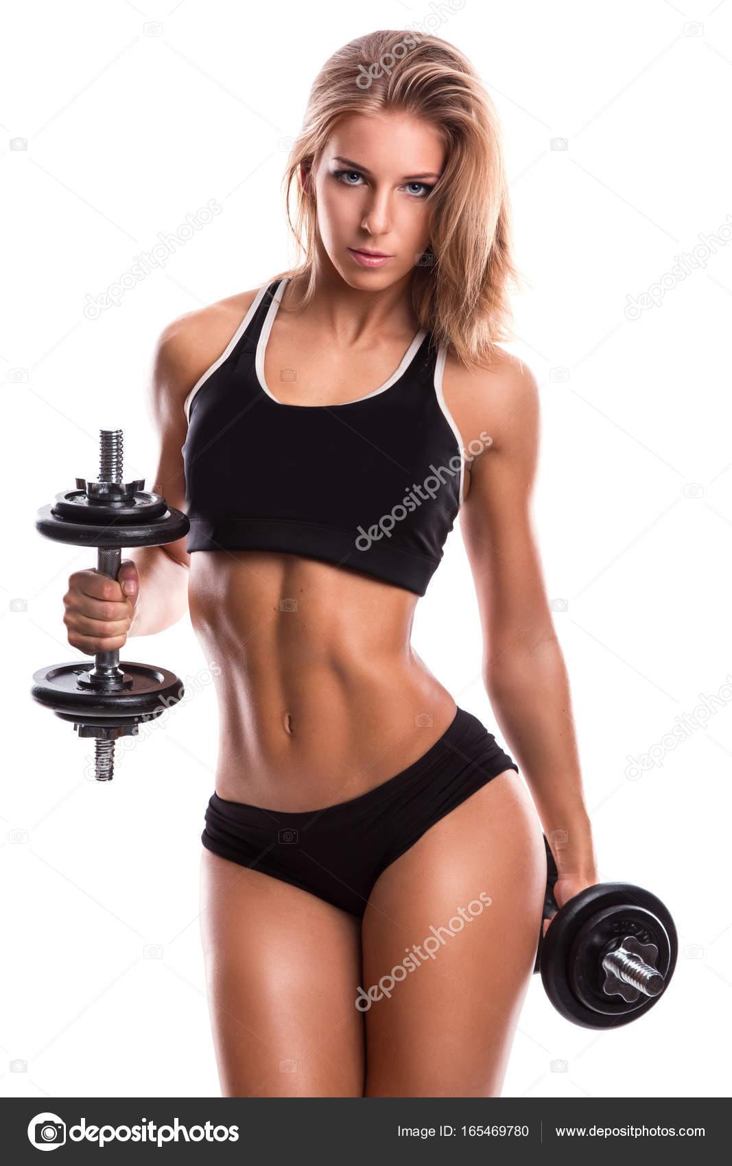 Фитнес сексуальная девушка